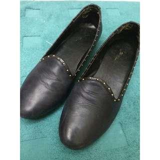 Miss 21 樂福鞋 平底鞋 铆釘