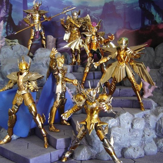 Saint Seiya Poseidon series Myth Cloth (Poseidon Exclusive & Mermaid) Non-EX