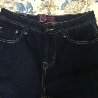 Sacoor Brothers Straight Cut Jeans W26in/ L34in