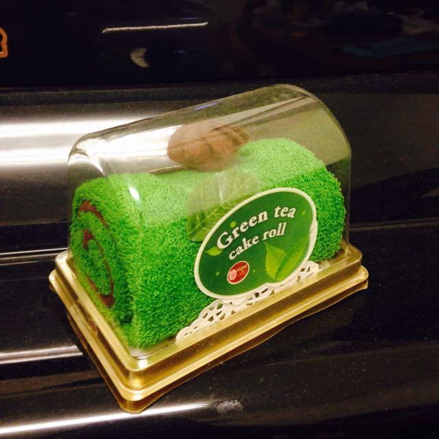 蛋糕造型毛巾卷