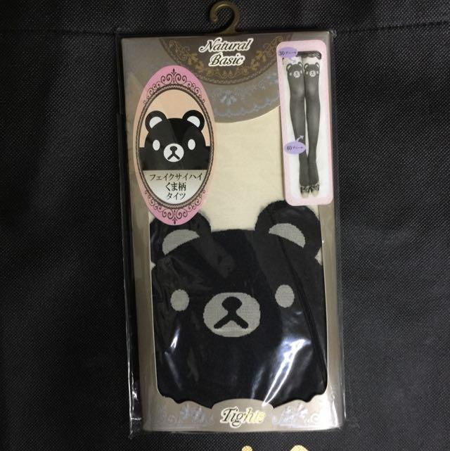 日本 可愛熊熊絲襪