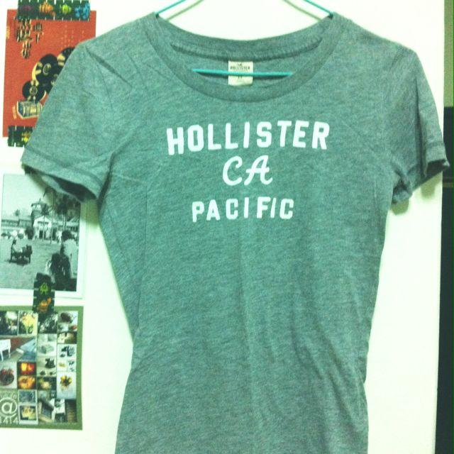 Hollister 短T 灰 Xs