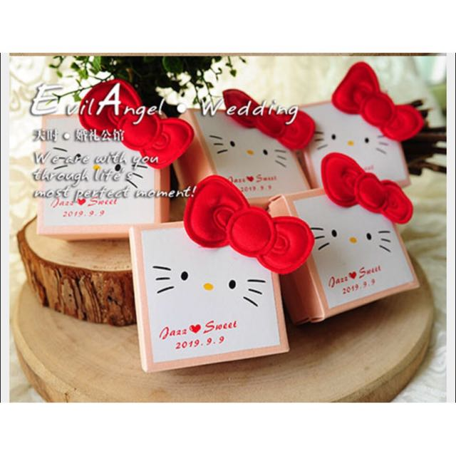 ... Personalize Hello Kitty Wedding Favor Boxes / Door Gifts ...  sc 1 st  Carousell & PO] Personalize Hello Kitty Wedding Favor Boxes / Door Gifts ... pezcame.com