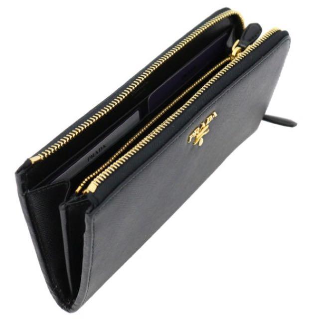 prada portafoglio lampo 1m1183