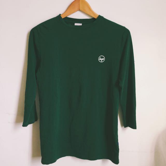 SQUAD 深綠薄上衣