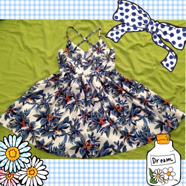 《二手》Summer露背度假洋裝
