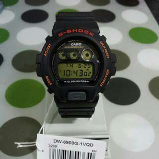 Casio G-Shock DW-6900 Lightly used