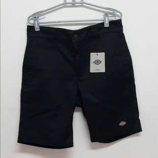 (全新)Dickies 黑 短褲 工作褲 SR001