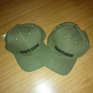 New Shimano Olive Green Cap.