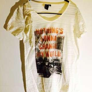*BEAR TWO*城市T-shirt#二手商品