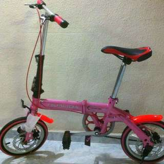 "Folding Bike 14"" (Brand new) Ready Stock"