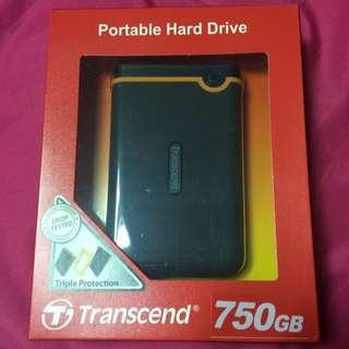 創見750G硬碟(未使用過)