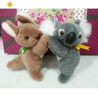 【無尾熊🆚袋鼠】 布偶