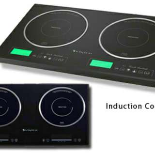 New Two Zone Built-in Digital Induction Cooker