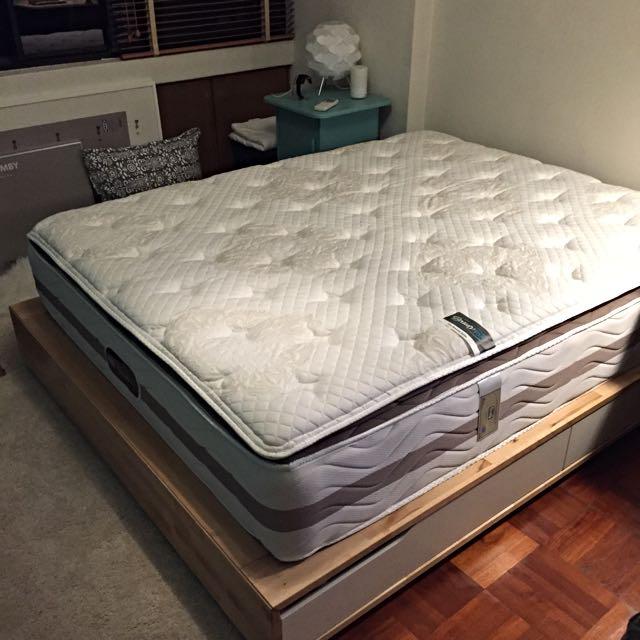 Simmons Beautyrest Pillow Top Mattress Queen