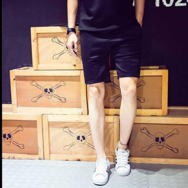 型男運動休閒短褲
