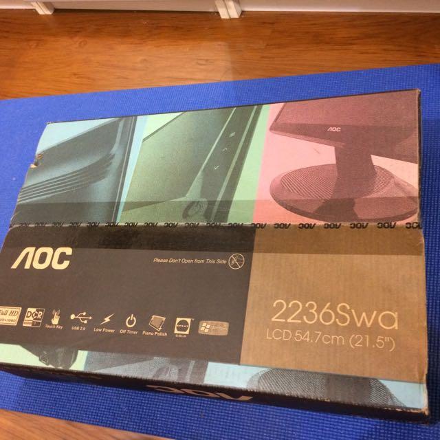 AOC 22吋 LCD螢幕(二手)