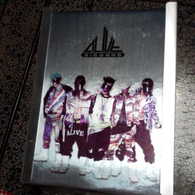 BIGBANG 5.5mini album / still alive 團體板