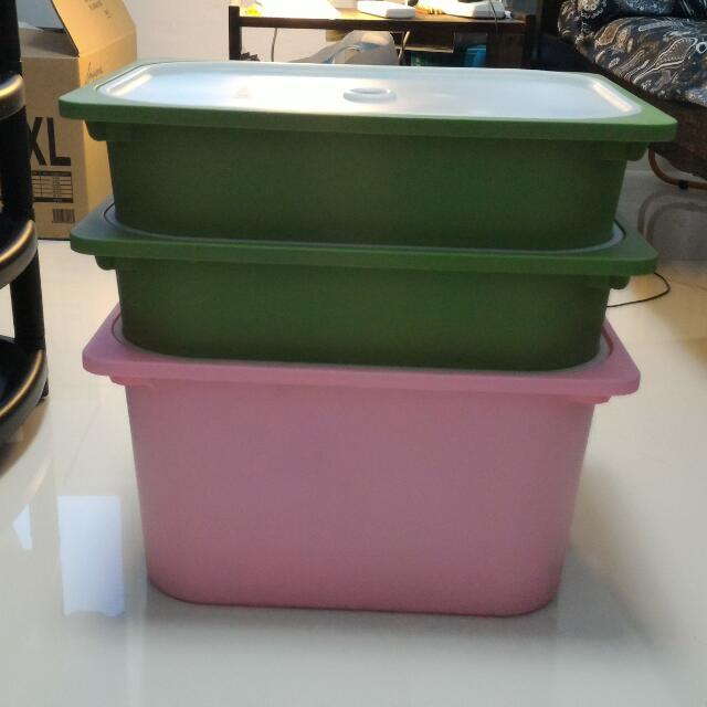 IKEA Storage Boxes (Trofast)