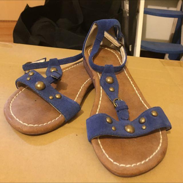 Ikki寶藍色涼鞋