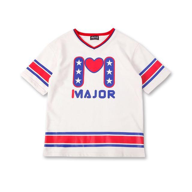 Major MJR 翻玩復古運動感厚棉寬鬆球衣