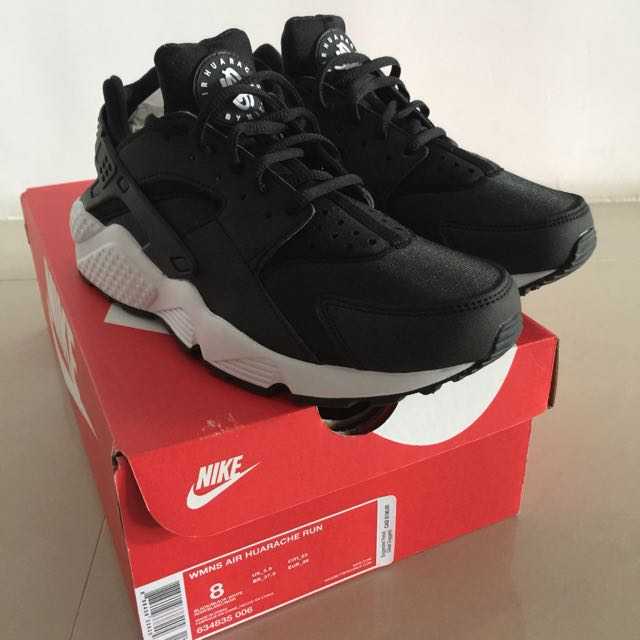 NIKE WMNS AIR HUARACHES RUN 女生武士鞋 US 8 / CM 25
