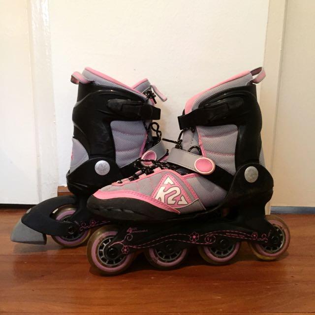 Pair Of KR Marlee Girl's Rollerblades