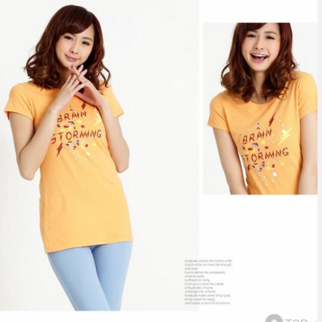 降~全新101原創~長版修身短T-shirt