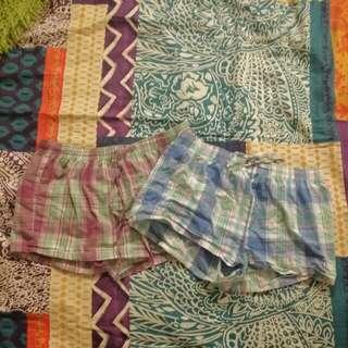 Two Pairs Of Pajama Bottoms