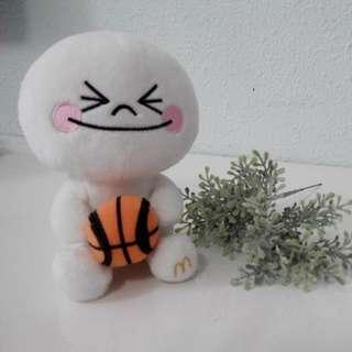 McD Line Plush Toy *moon*