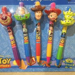 🇯🇵東京迪士尼。玩具總動員家族造型筆