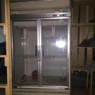 雙門透明大冰箱 ((請詳看內文說明))