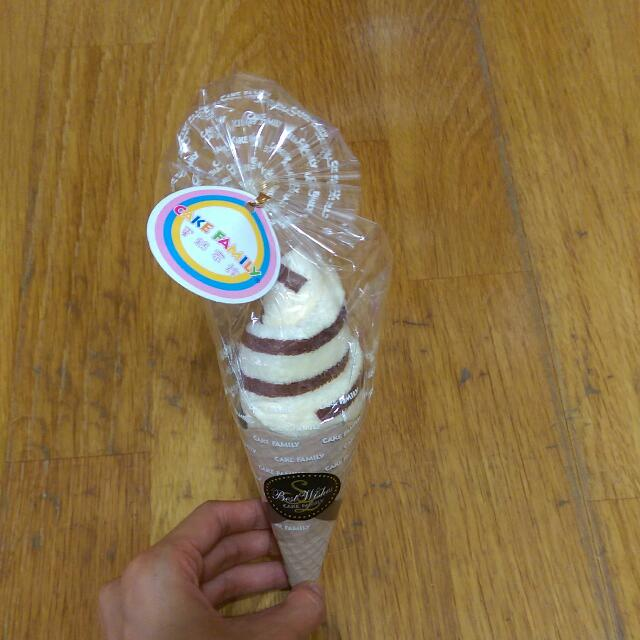 《臺灣製》冰淇淋毛巾