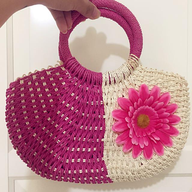 超可愛海洋夏天必備 花朵🌺小包