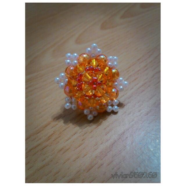 🔽降價🔽手工 - 串珠戒指