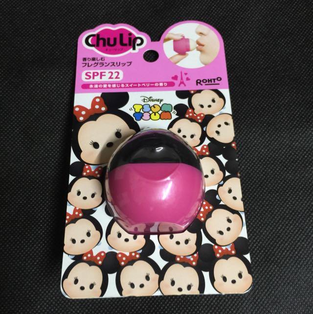 迪士尼 米妮 Tsum Tsum 啾啾護唇膏 SPF22