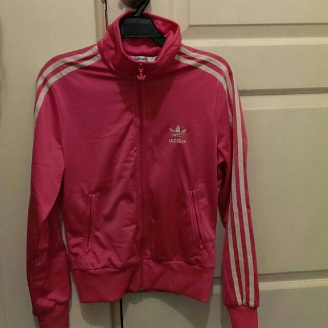 Adidas運動桃紅外套