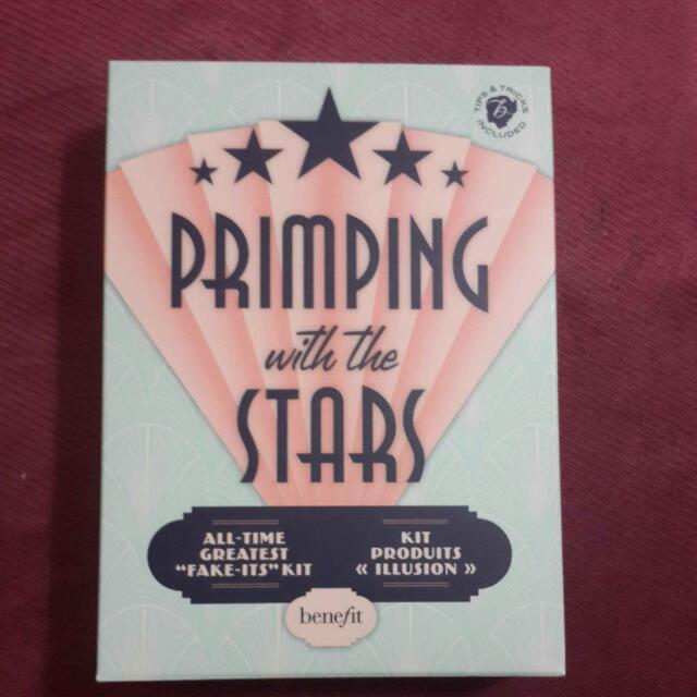 Benefit Priming With The Stars , 小姿美女完妝經典組,美國帶回