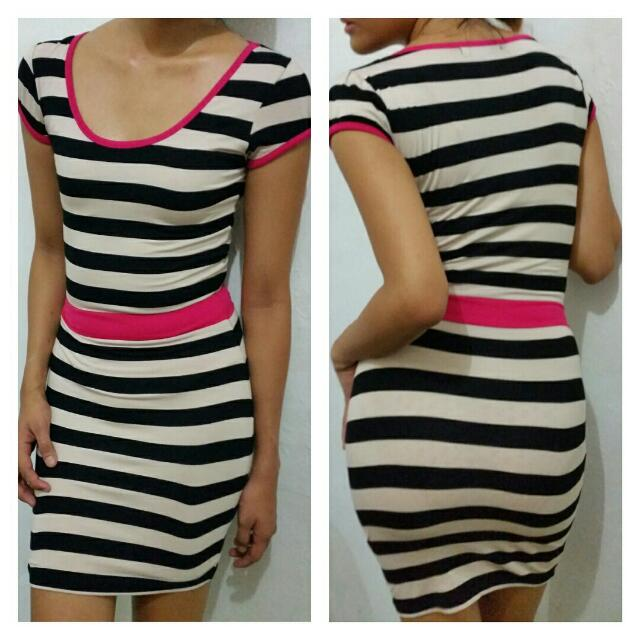 8f9f35b25515 Forever 21 Striped Dress