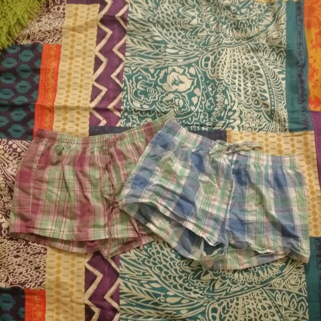 Two Pairs Of Pajama Bottoms