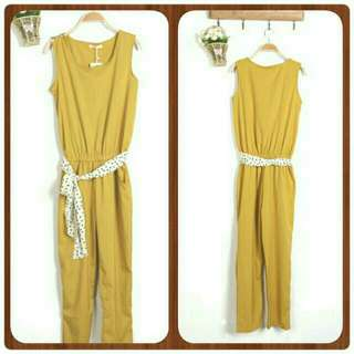 Sale New Yellow Jumpsuit