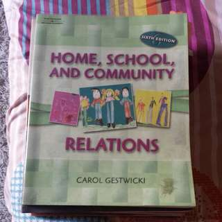 Home, School And Community Relations 6th Ed Book