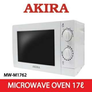 Microwave Oven (Sealed Box) : 17Liters - AKIRA Brand MW-M1762