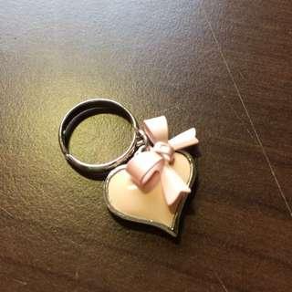 韓貨店購入戒指