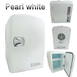 4-Litres Mini Fridge with Cooler / Warmer - Stylux Brand (Pearl White Color only ) LH-JY4AD :