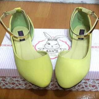 Ann's 金屬繫踝平底鞋