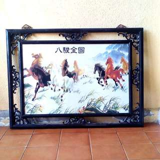 FENG shui original prosperity 8 horses