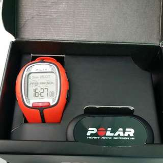 POLAR RS 300X(reserved) RUNNING WATCH WITH HRM BNIB NEVER USED BEFORE SELLING FAST AT $100