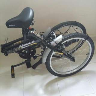 """Aleoca 20"""" ESECUZION Foldable Bicycle"""