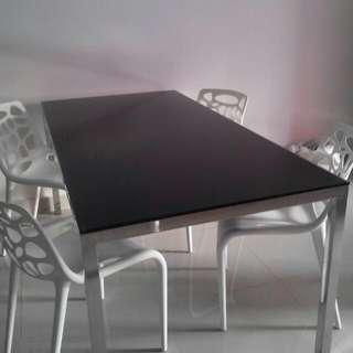 Cellini Designer Dining Table Set
